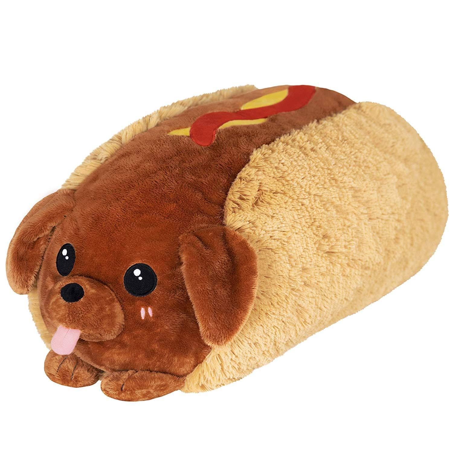 Squishable / Dachshund Hot Dog - 15""