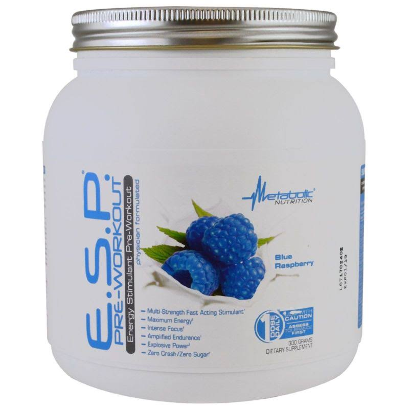 Metabolic Nutrition E.S.P 30 Servings Blue Raspberry