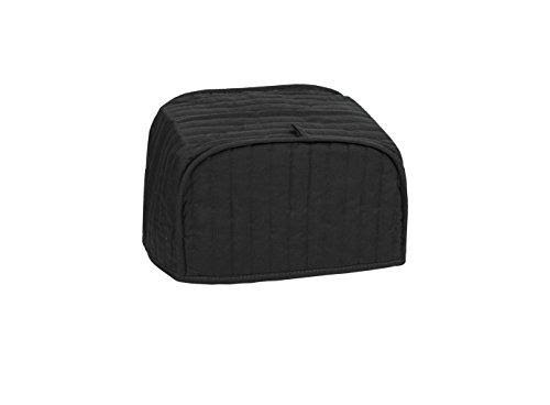 Ritz Quilted Two Slice Toaster Cover - Black