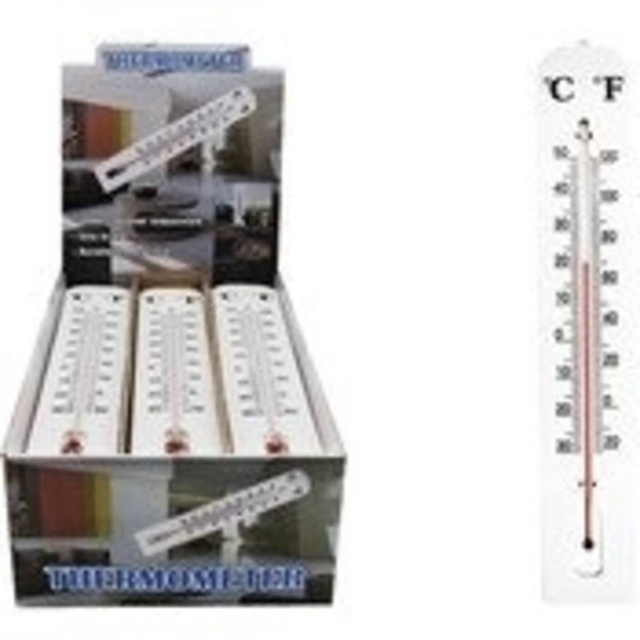 Ddi 2182292 Jumbo Thermometer - White