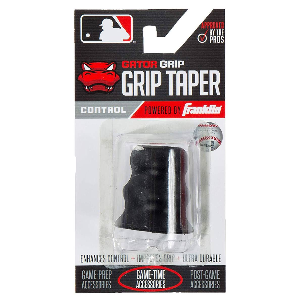 Franklin Sports MLB Gator Grip Taper - Black