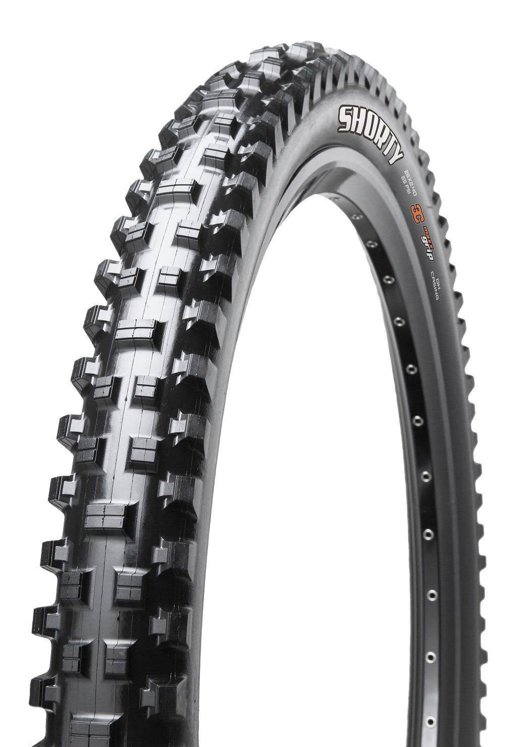"Maxxis Shorty Wide EXO Tubeless Ready Trail Tire - 29"" x 2.5"", 60 TPI, 3C"