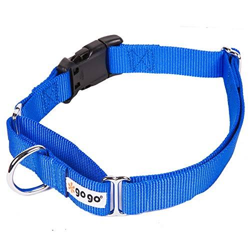 Gogo Pet Products Martingale Gentle Training Collar Medium Large Blue