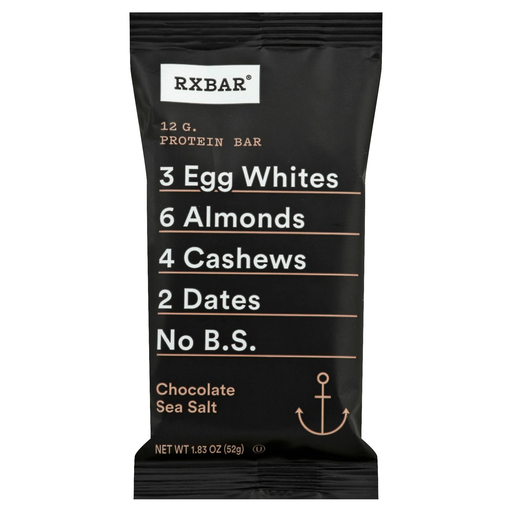 Rx Bar Protein Bar - Chocolate Sea Salt