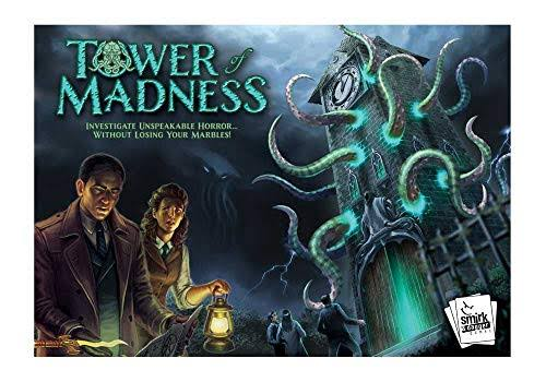 Tower of Madness Board Game