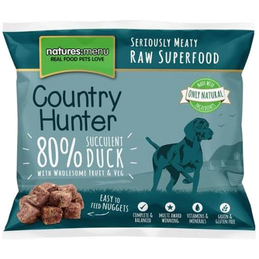 Country Hunter Succulent Duck Nuggets 1kg