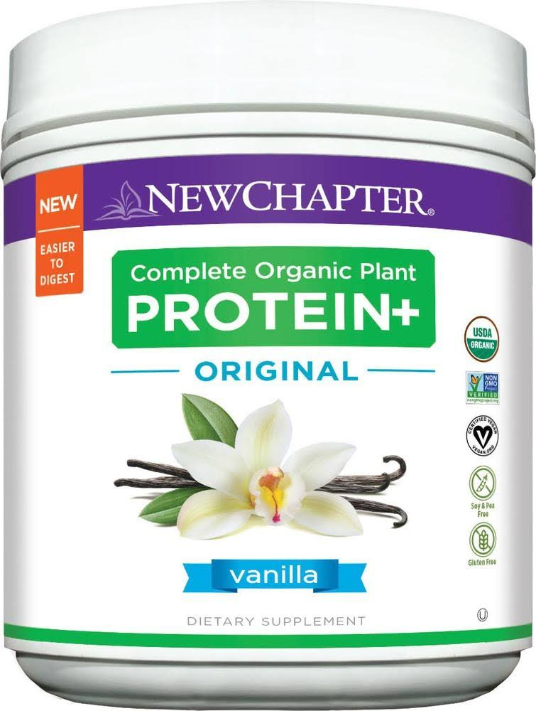 New Chapter Complete Organic Plant Protein Vanilla
