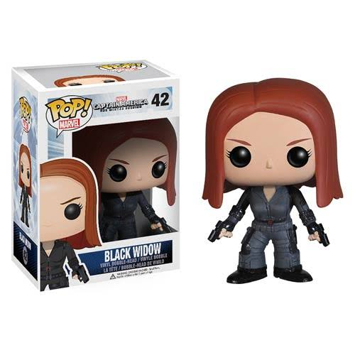 Funko Pop Heroes: Captain America Movie 2 Action Figure - Black Widow