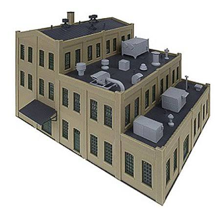 Walthers Cornerstone Roof Details Building Kit