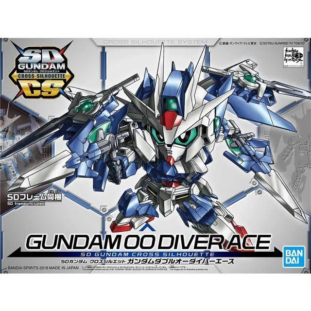 Gundam SDCS Gundam 00 Diver Ace Model Kit