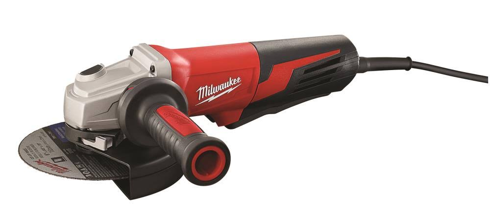 Milwaukee Small Angle Grinder - with Paddle Switch, 13A, 6""