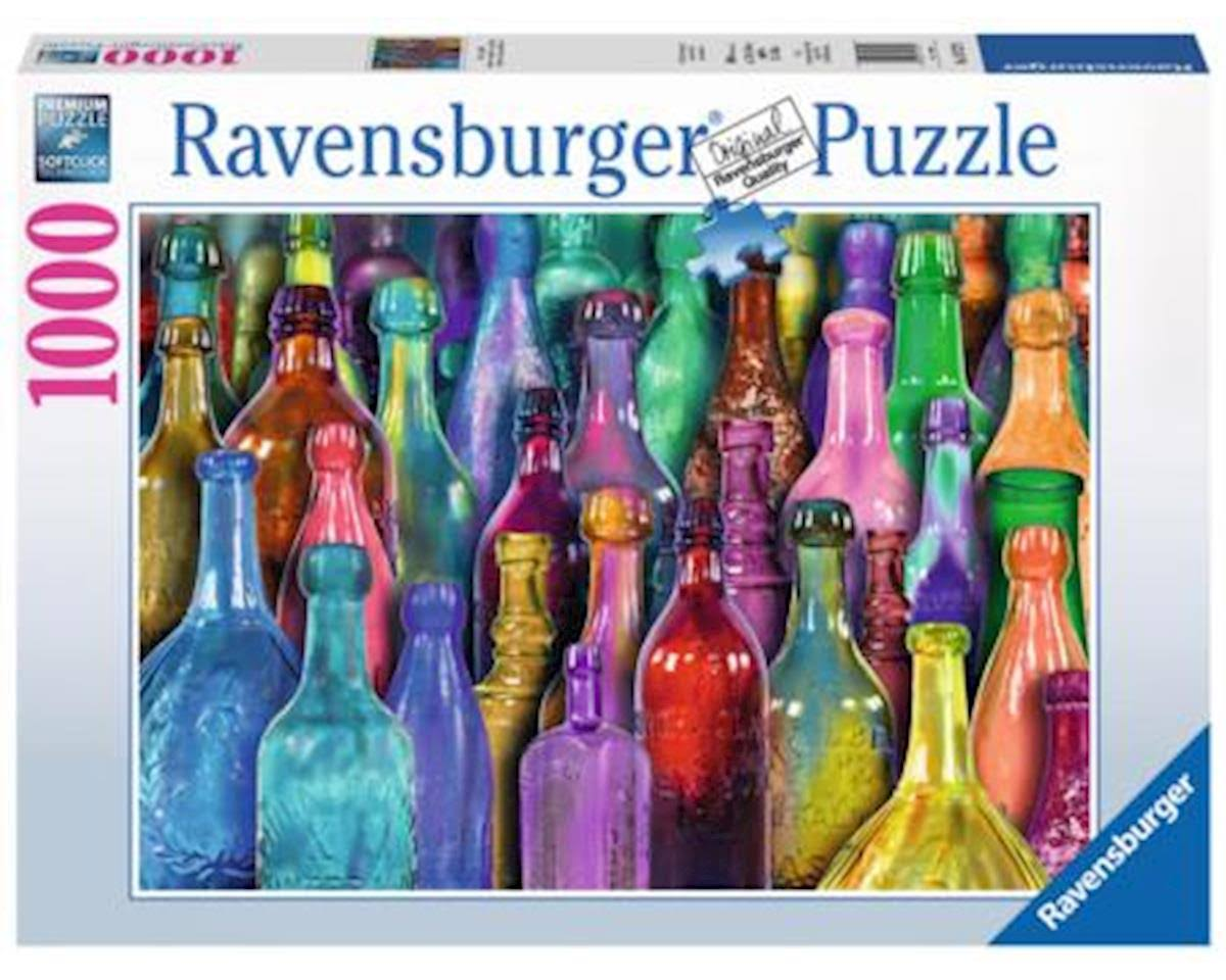 Ravensburger Jigsaw Puzzle - Colorful Bottles, 1000pcs