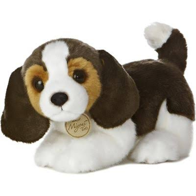 Aurora World Miyoni Tots Beagle Pup Plush Toy - 25cm