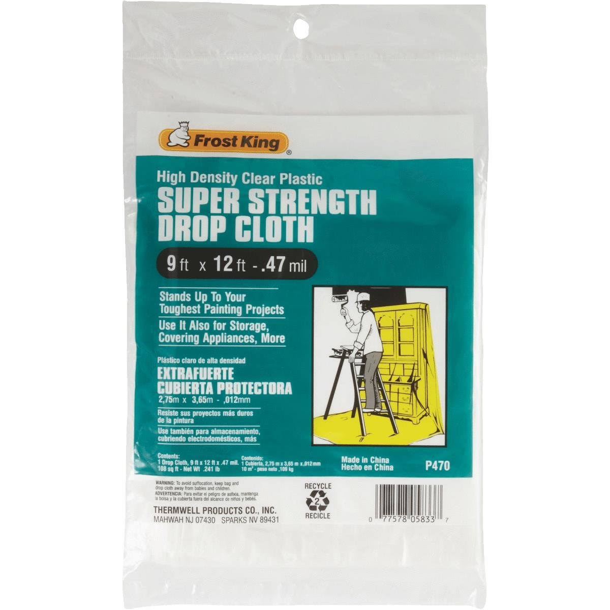 Frost King Super Strength Drop Cloth
