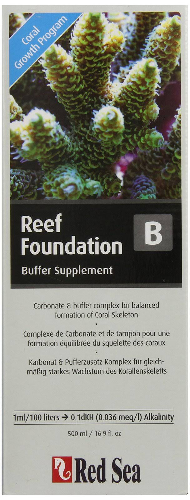Red Sea Reef Foundation Supplement B