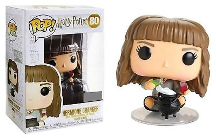 Funko Pop Harry Potter 80 Hermione Granger with Cauldron Action Figure