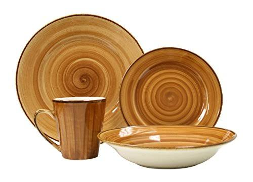 Thomson Pottery Kenya 16 PC Dinnerware Set Service for 4
