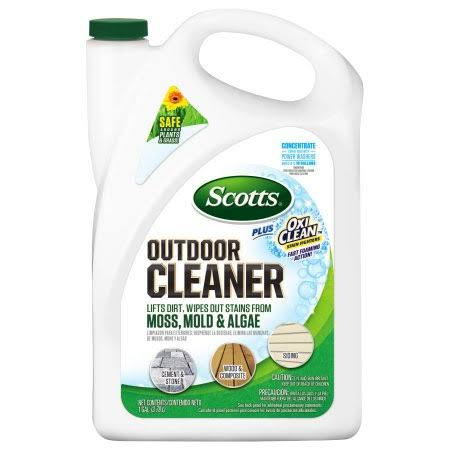 Scotts Plus Liquid Oxi Clean Outdoor Cleaner - 128oz