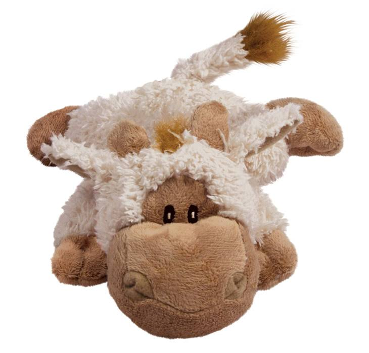 KONG Cozie Tupper The Lamb Dog Toy - Medium, Tan
