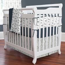 Bratt Decor Crib Skirt by Crib Bedding Sets Navy Baby Crib Design Inspiration