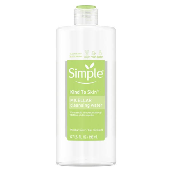 Simple Sensitive Skin Experts Micellar Cleansing Water - 6.7oz