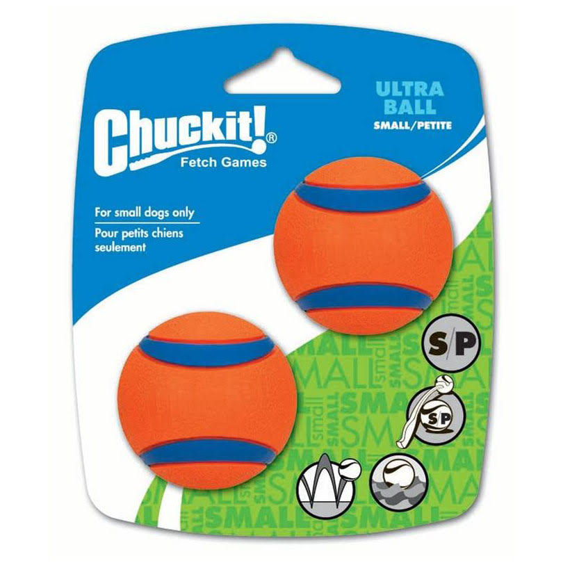 Chuckit Ultra Ball - Small, x2