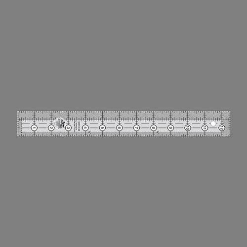 "Creative Grids Rectangle Quilting Ruler Template - 1.5"" x 12.5"""