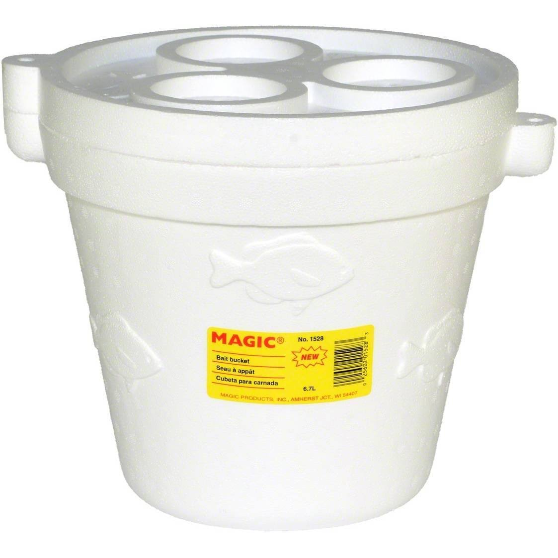 Magic Foam Minnow Bucket with Cover