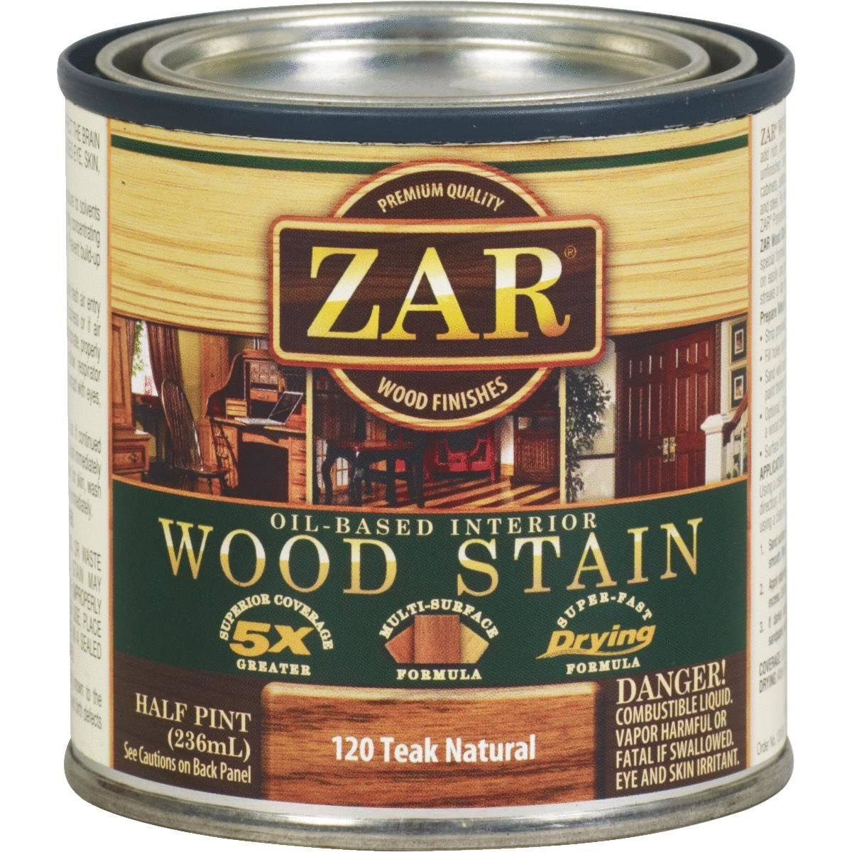 ZAR Wood Stain - Teak Natural, 236ml