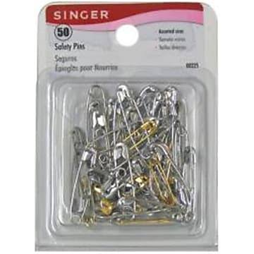 Singer Safety Pins - 50ct