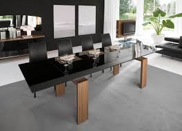 Modern Dining Room Sets Cheap dining room exotic metropolitan contemporary 7 piece dining room