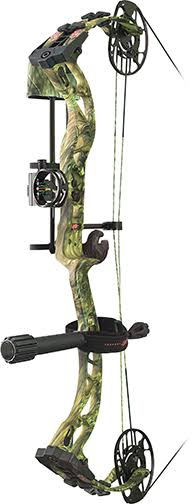 "PSE Ferocity RTS Package Right Hand 29"" 70 lbs Mossy Oak Country"