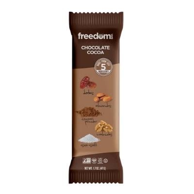 Freedom Bar Chocolate Cocoa Paleo Bar