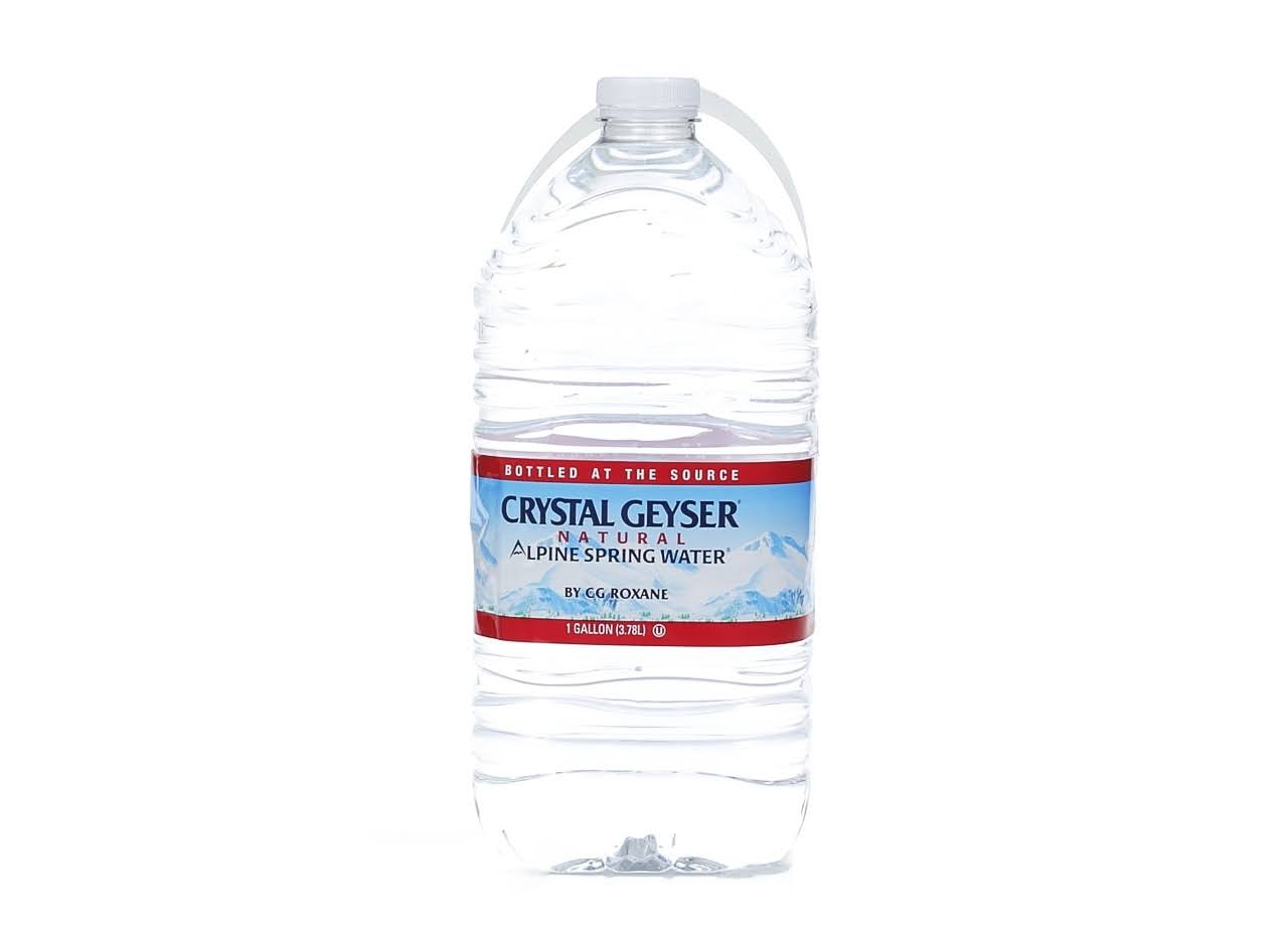 Crystle Geyser Alpine Spring Water - 1 Gallon