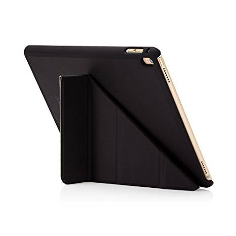 Pipetto iPad Pro 9.7 Case - Origami Smart Cover - Black (Compatible with iPad Pro 9.7 inch)