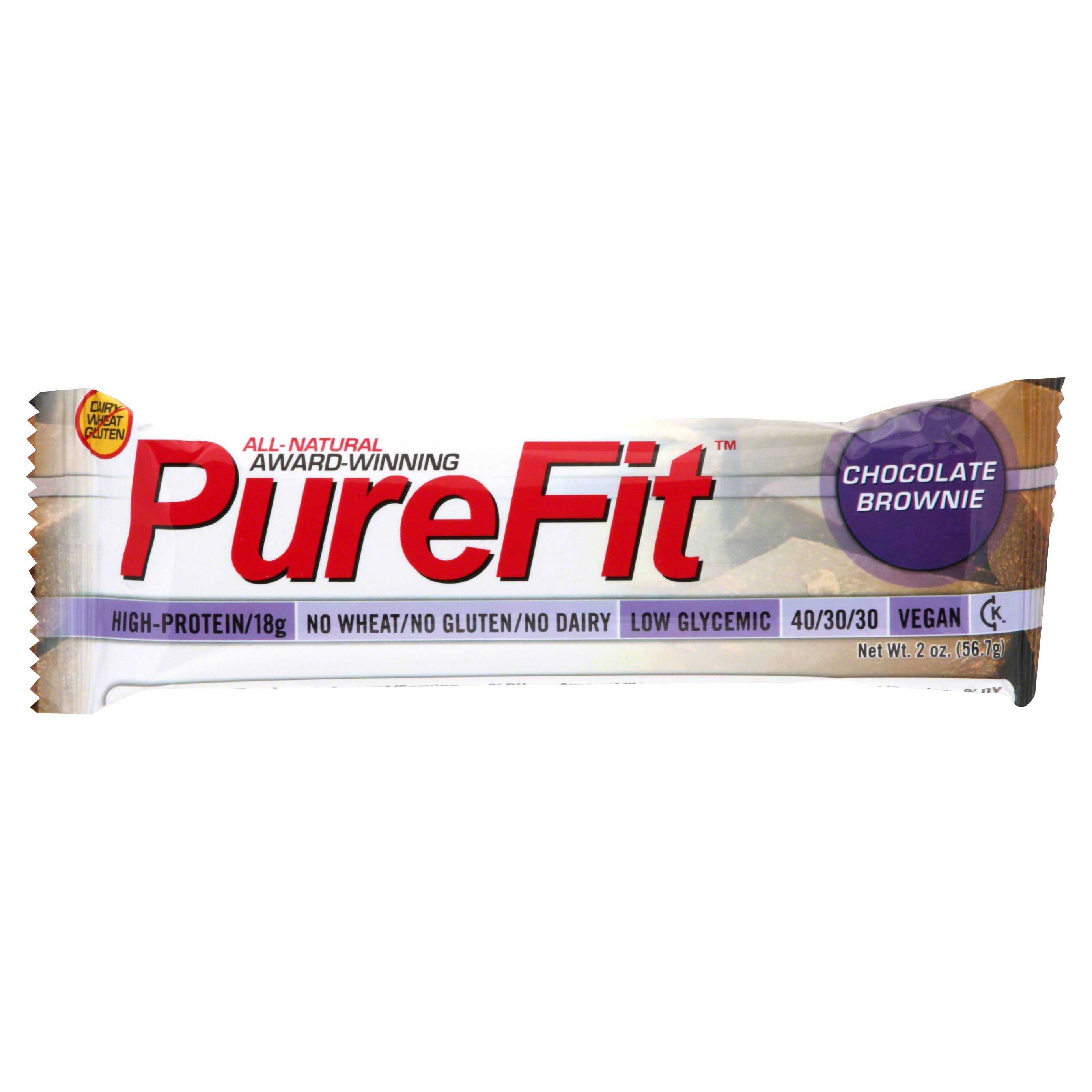PureFit Nutrition Bar - Chocolate Brownie, 2oz