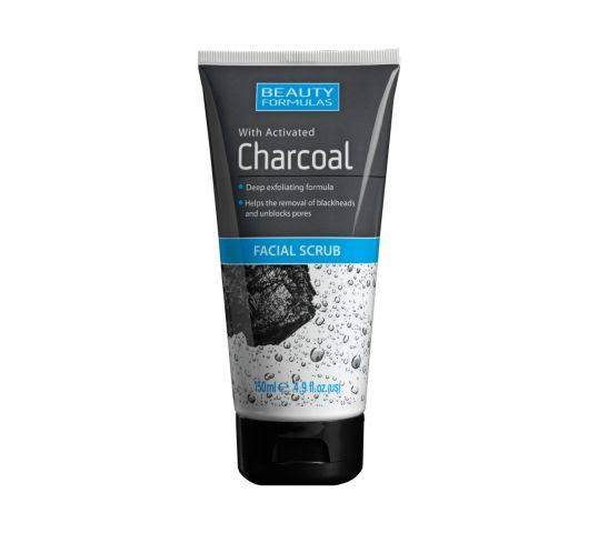 Beauty Formulas Charcoal Facial Scrub, 150 ml