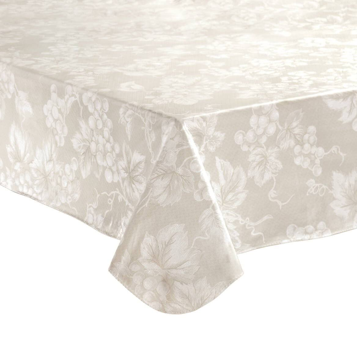 Lintex Grapevine Vinyl Tablecloth Ivory