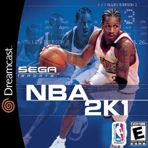 NBA 2K1 [Dreamcast Game]