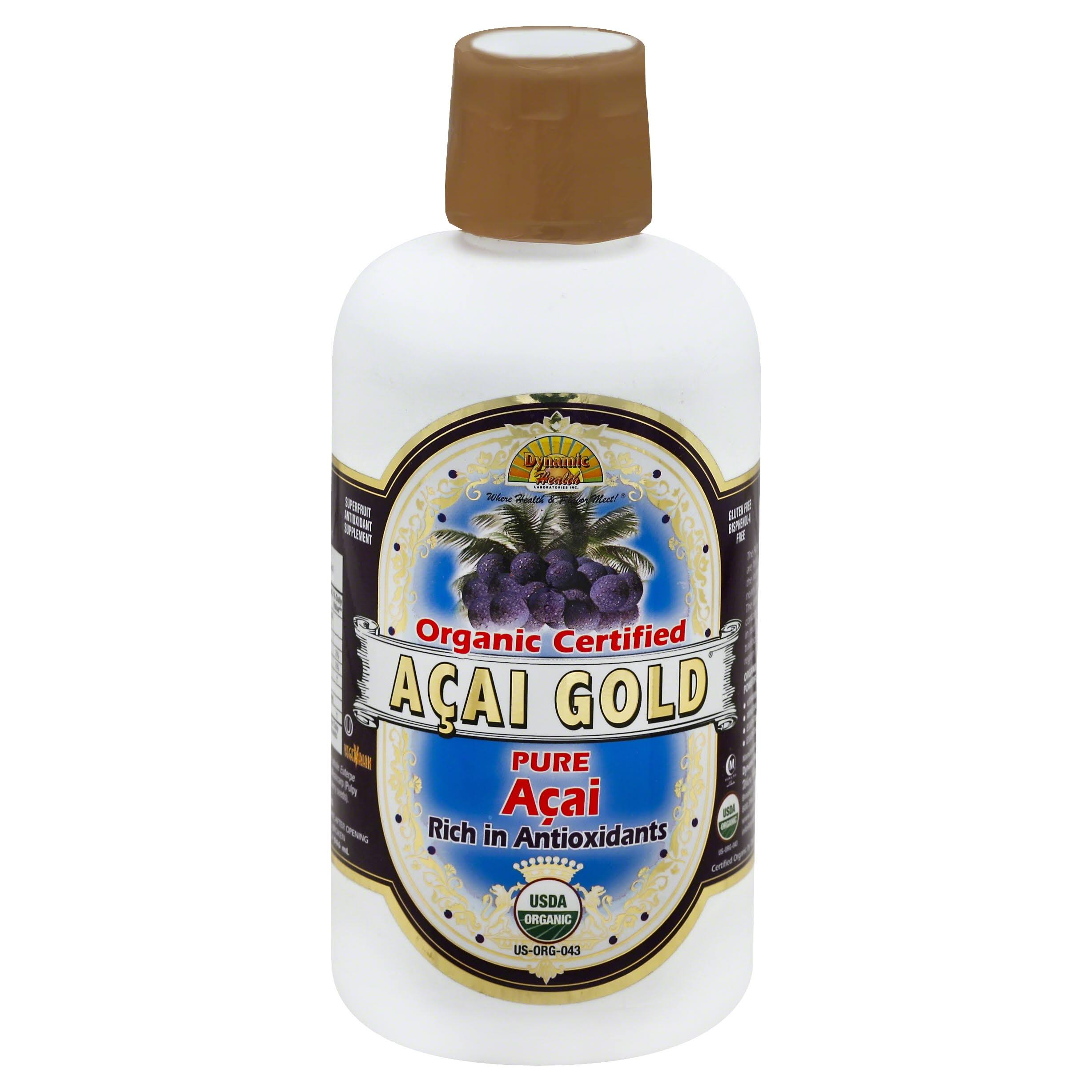 Dynamic Health Pure Organic Acai Gold Acai Juice - 946ml