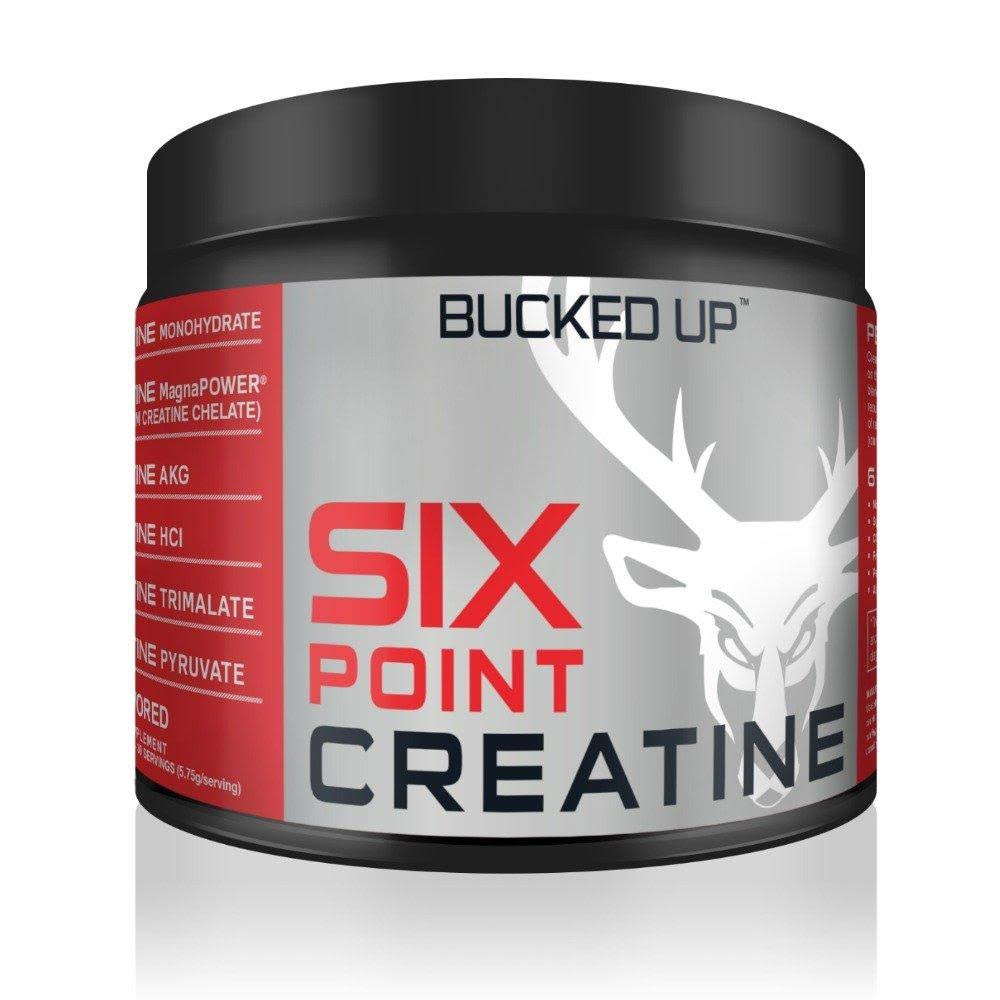 Bucked Up Six Point Creatine Six