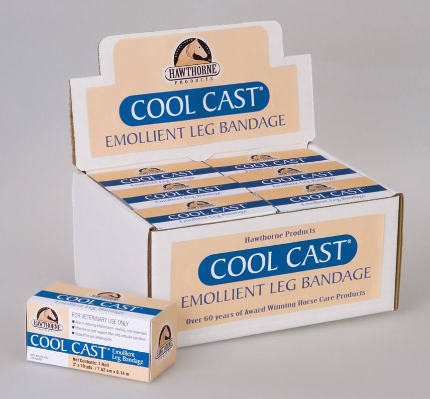 "Cool Cast Emollient Leg Bandage - 12ct, 3"" x 10yds"