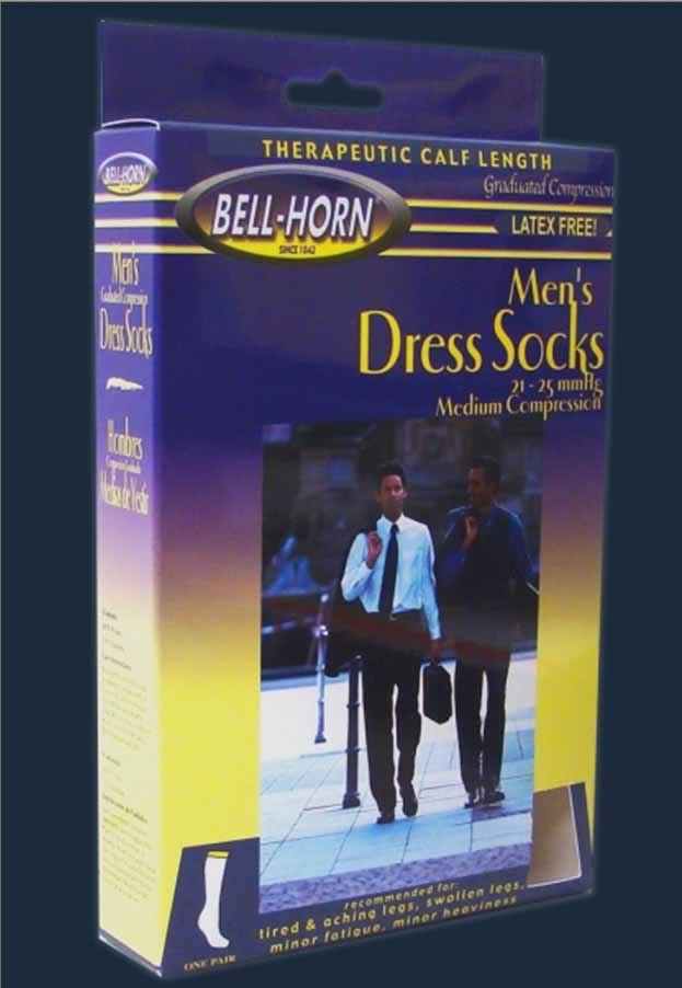 Bell-Horn Compression Socks