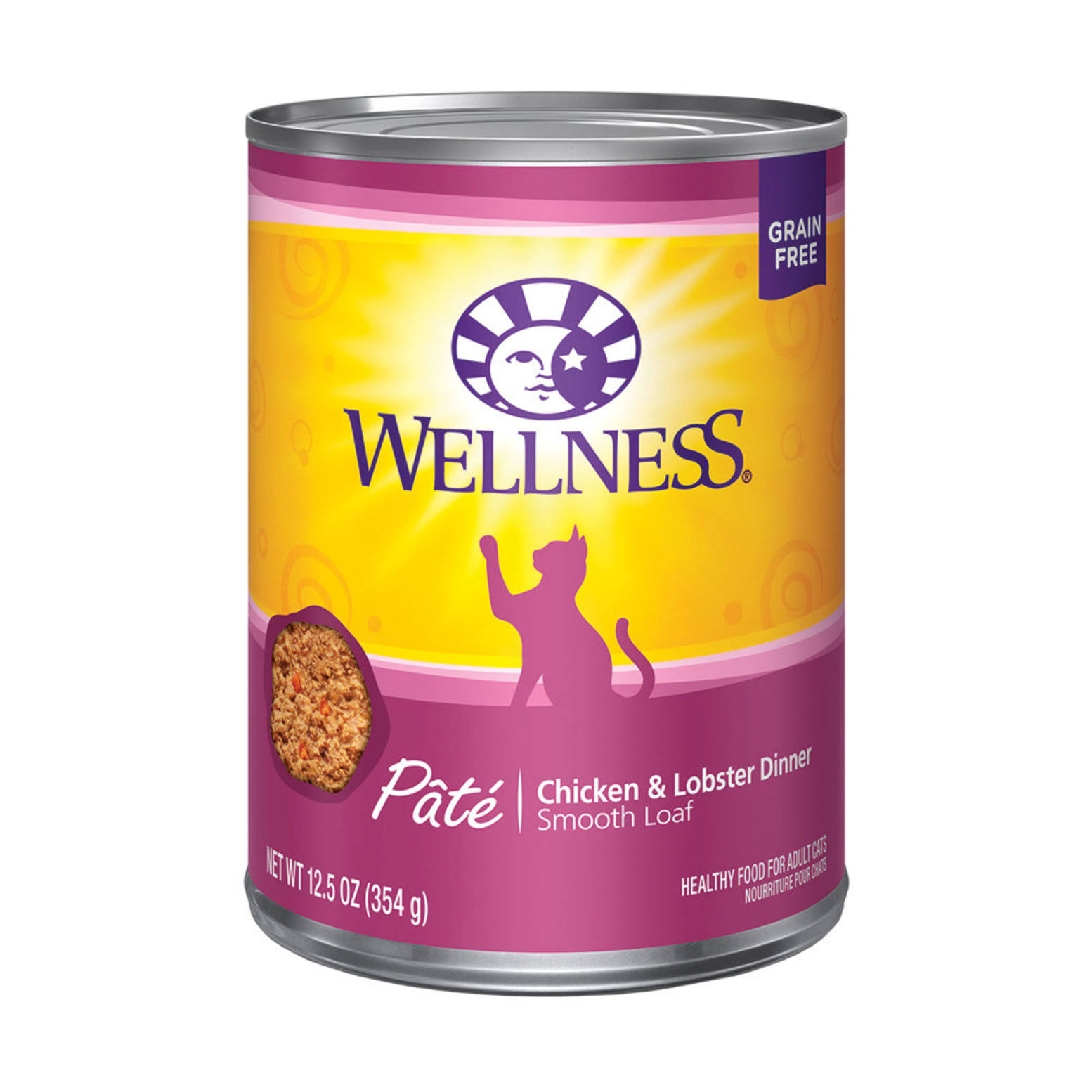 Wellness Complete Health Chicken & Lobster Cat Food 12.5 oz
