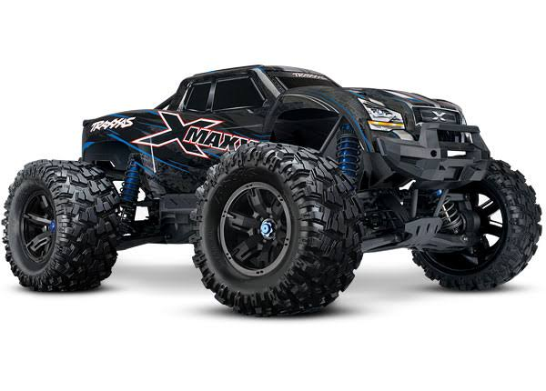 Traxxas X-Maxx 8S 4WD Brushless RTR Monster Truck, Blue