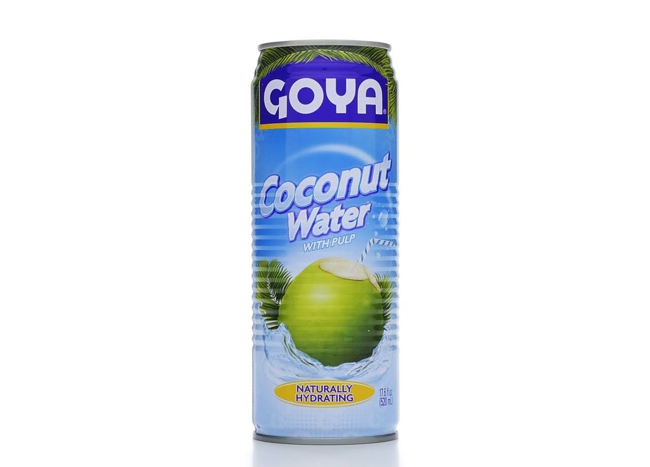 Goya Coconut Water with Pulp - 17.6oz