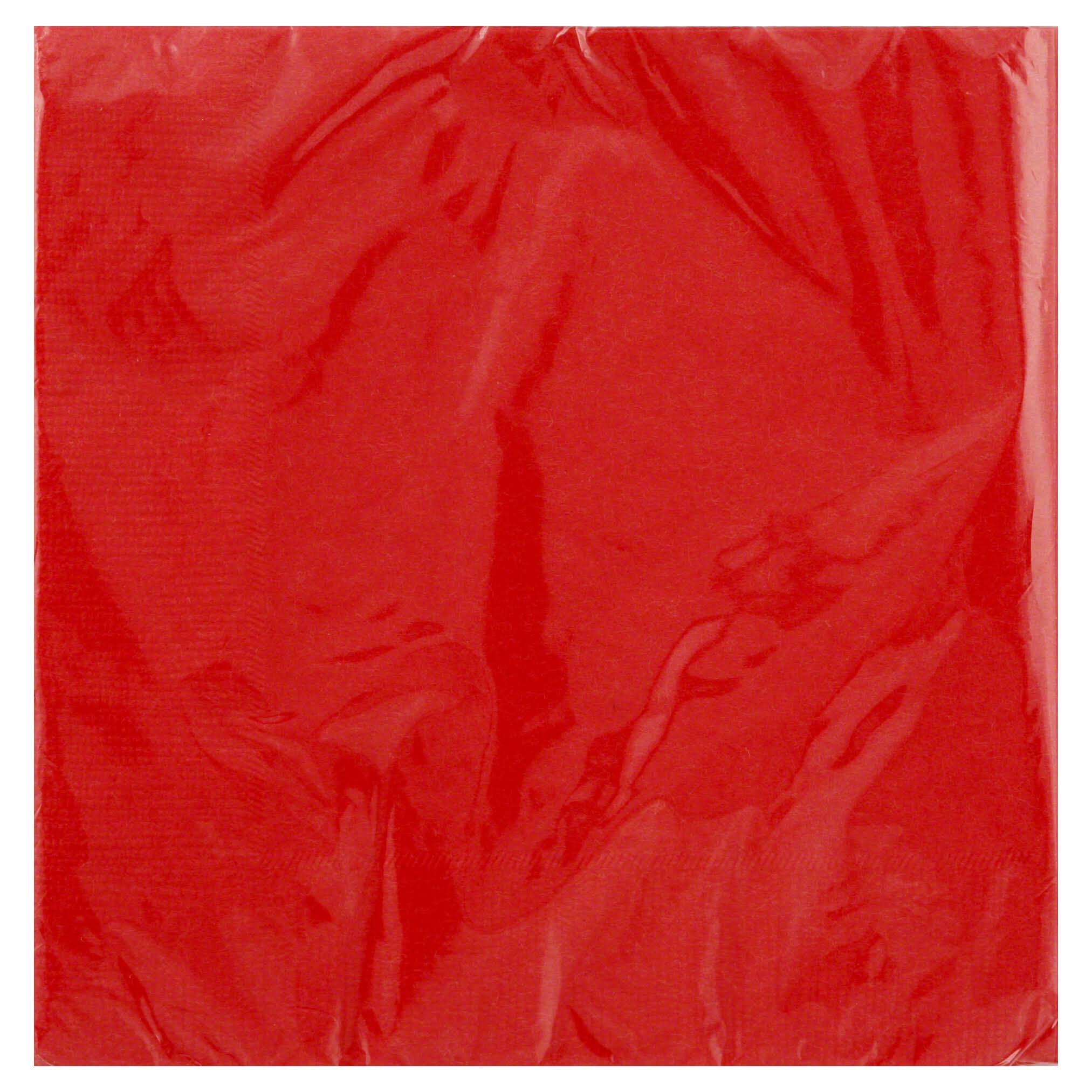 20 Napkins Red