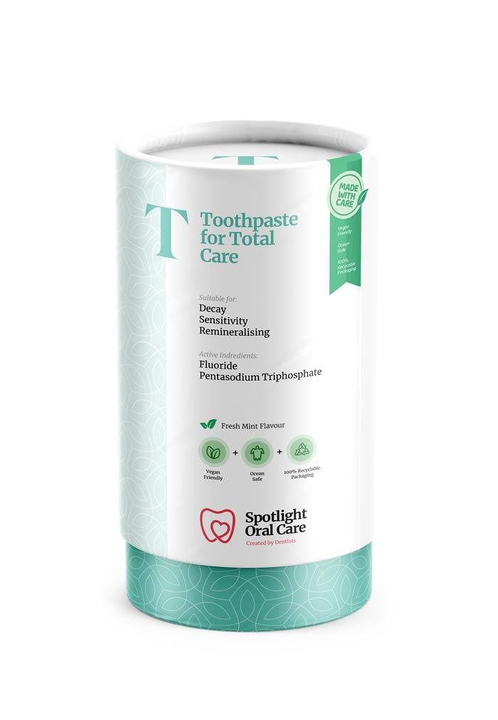 Spotlight Oral Care for Total Care Toothpaste - Fresh Mint Flavour, 100ml