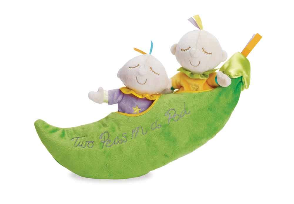 Manhattan Toy Snuggle Pods Soft Toy - Two Peas In a Pod