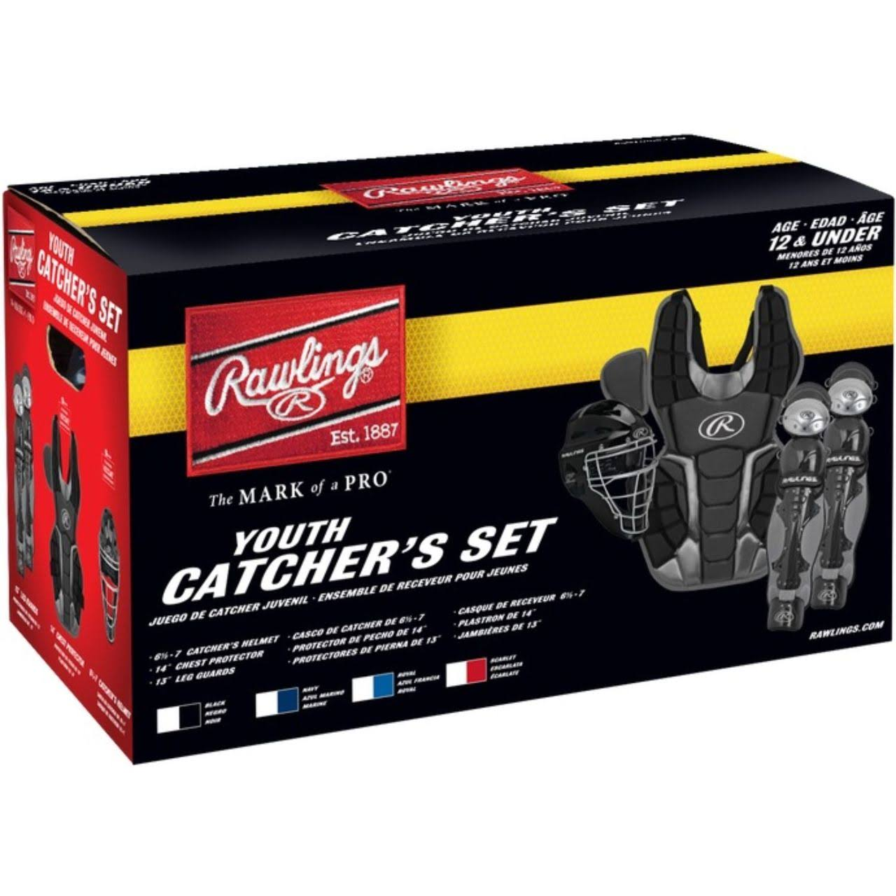 Rawlings Youth Renegade 2.0 Catcher Set - Black, Small